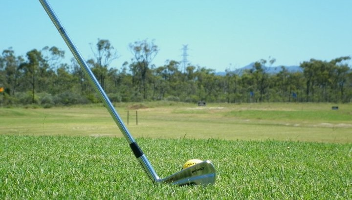Pandanus Park Golf Swing Practice Townsville