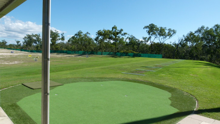 Putting Practice at Townsville Golf Centre