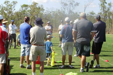 Golf functions and training events